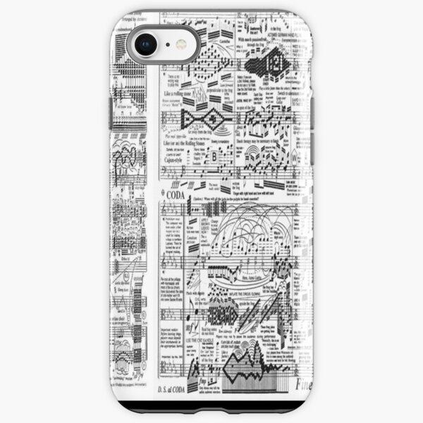 Faerie's Aire and Death Waltz iPhone Tough Case