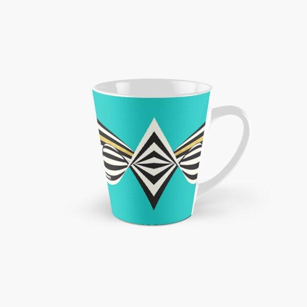 THINK! – Wavy Stripes on Luxury Blue Tall Mug