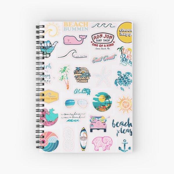 VSCO collage Spiral Notebook