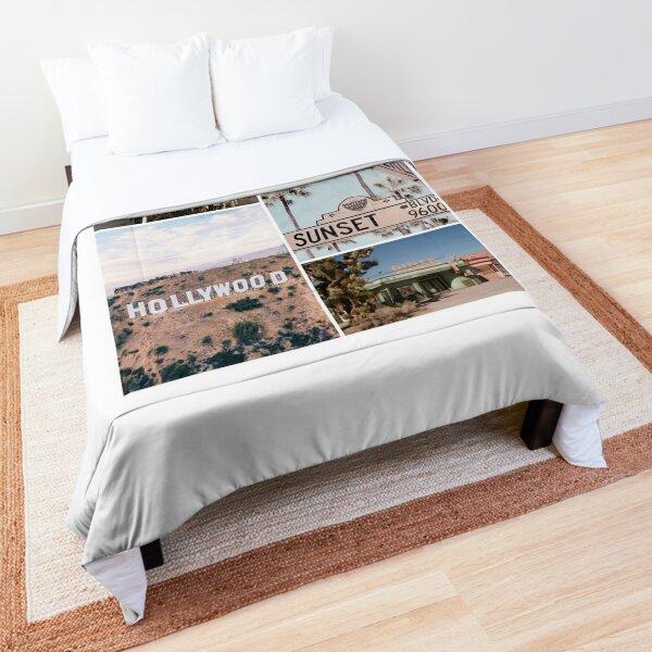 California collage Comforter