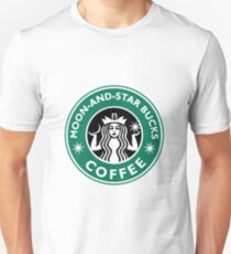 Moon-and-star bucks T-Shirt