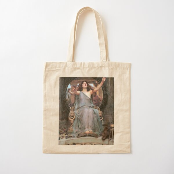John William Waterhouse - Circe offering the Cup to Odysseus Cotton Tote Bag