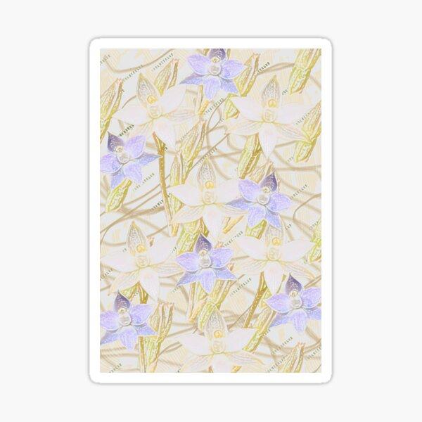 Sun Orchids Sticker