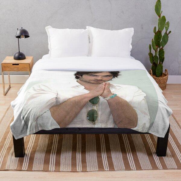 Ian Somerhalder Damon Salvatore Throw Blanket