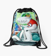 Scooter rally - Yeti and Co. Drawstring Bag