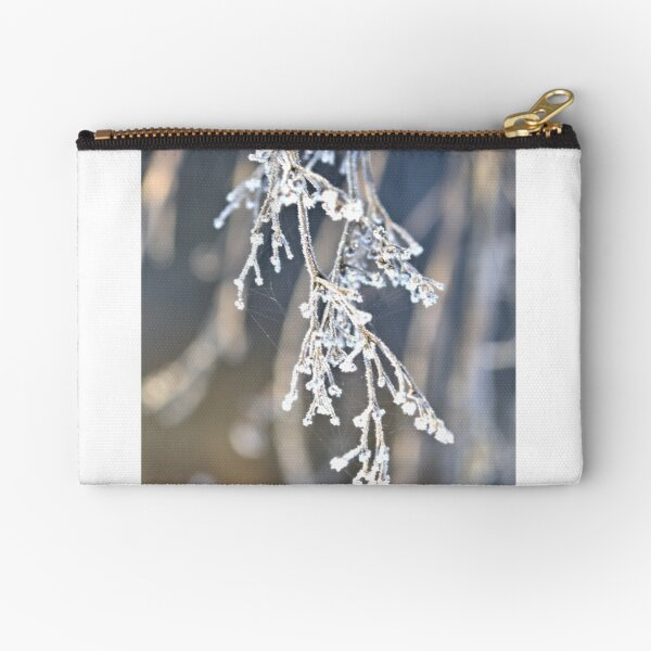 frosted nature Zipper Pouch