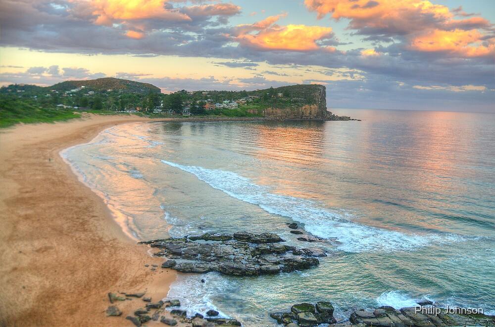 On The Rocks - Avalon Beach, Sydney - The HDR Experience by Philip Johnson