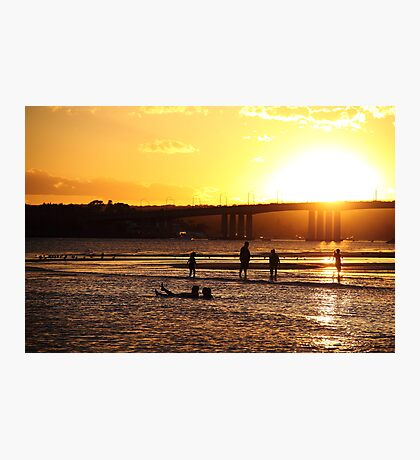 Sunset Beach Photographic Print