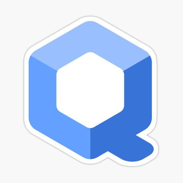 Qubes OS Sticker