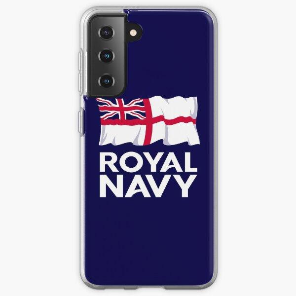 Royal Navy Ensign and Logo Samsung Galaxy Soft Case