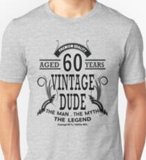 Vintage Dud Aged 60 Years T-Shirt