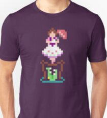 8-bit Haunted Mansion Tightrope Girl Unisex T-Shirt