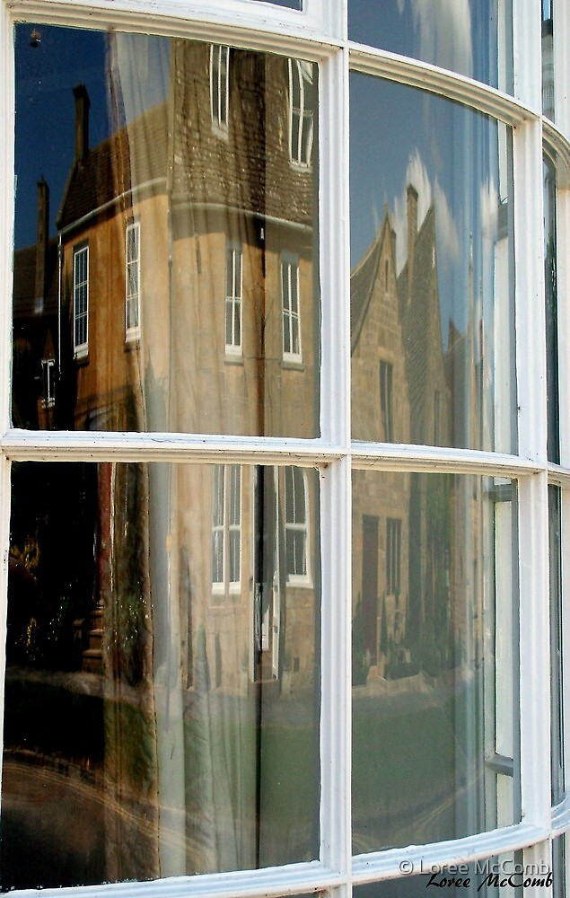 Love Old Curved Windows by © Loree McComb