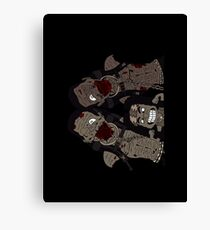 Michonne & her Pets Canvas Print
