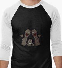 Michonne & her Pets Men's Baseball ¾ T-Shirt