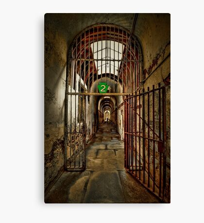 Gateway to Hell Canvas Print