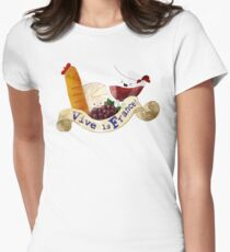 Basket of Delicious French Treats T-Shirt