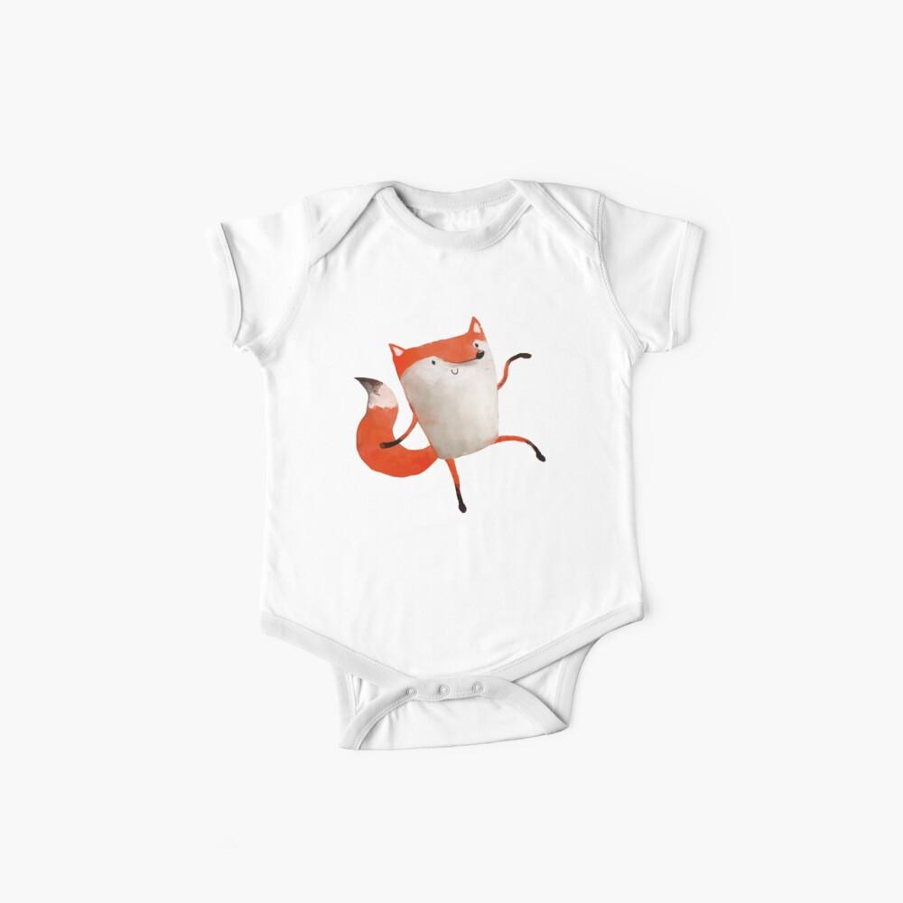 Happy Dancing Fox Baby One-Piece