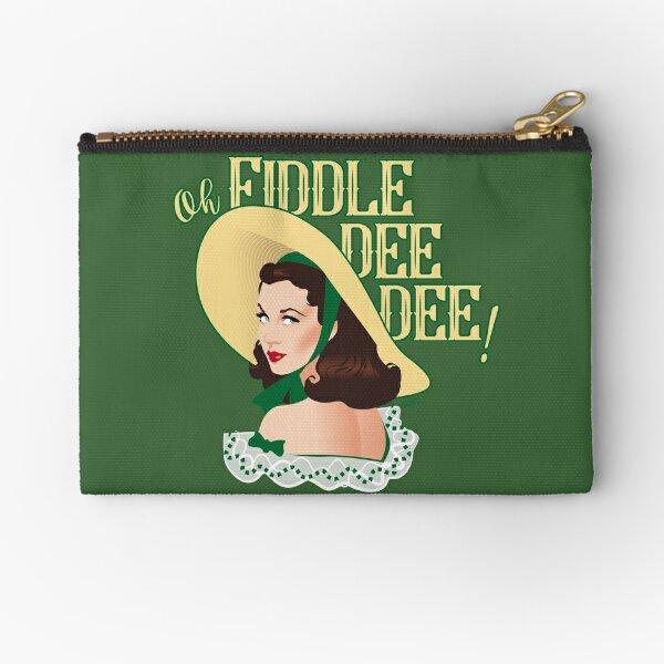 Fiddle-dee-dee! Zipper Pouch