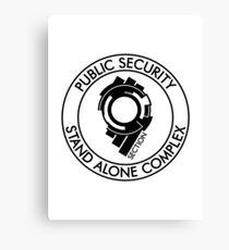Public Security Section 9 Canvas Print