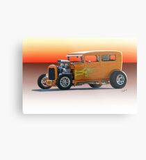 1928 Ford HiBoy Sedan Metal Print