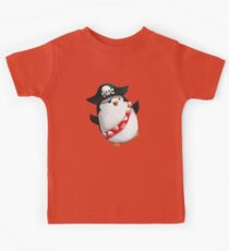 Cute Pirate Penguin Kids Tee