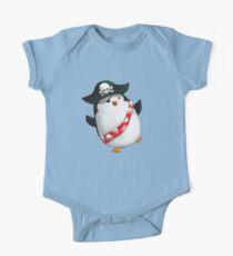 Cute Pirate Penguin One Piece - Short Sleeve