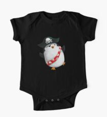 Cute Pirate Penguin One Piece - Short Sleeve