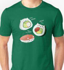 Camiseta ajustada Cute Sushi Rolls