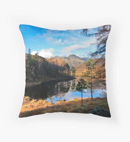 A Wonderful View of Blea Tarn Throw Pillow