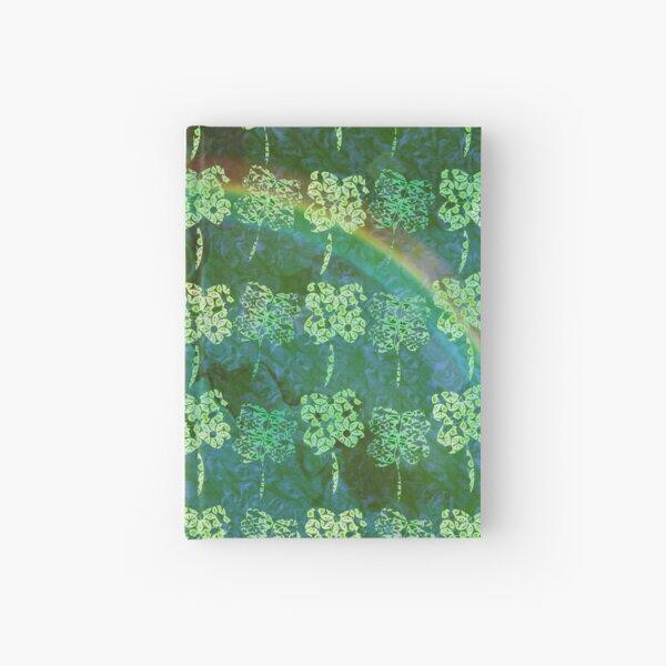 Lucky Shamrock Pattern Hardcover Journal