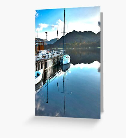Down by the Dock Greeting Card