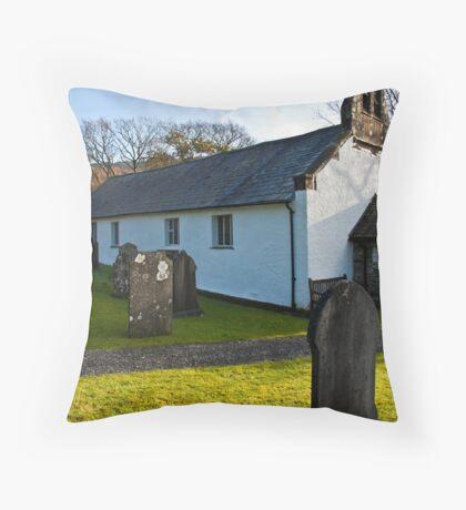 St John's Church - Ulpha Throw Pillow