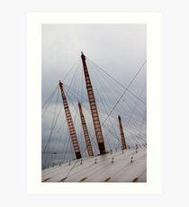 Spires - O2 Arena, London Art Print