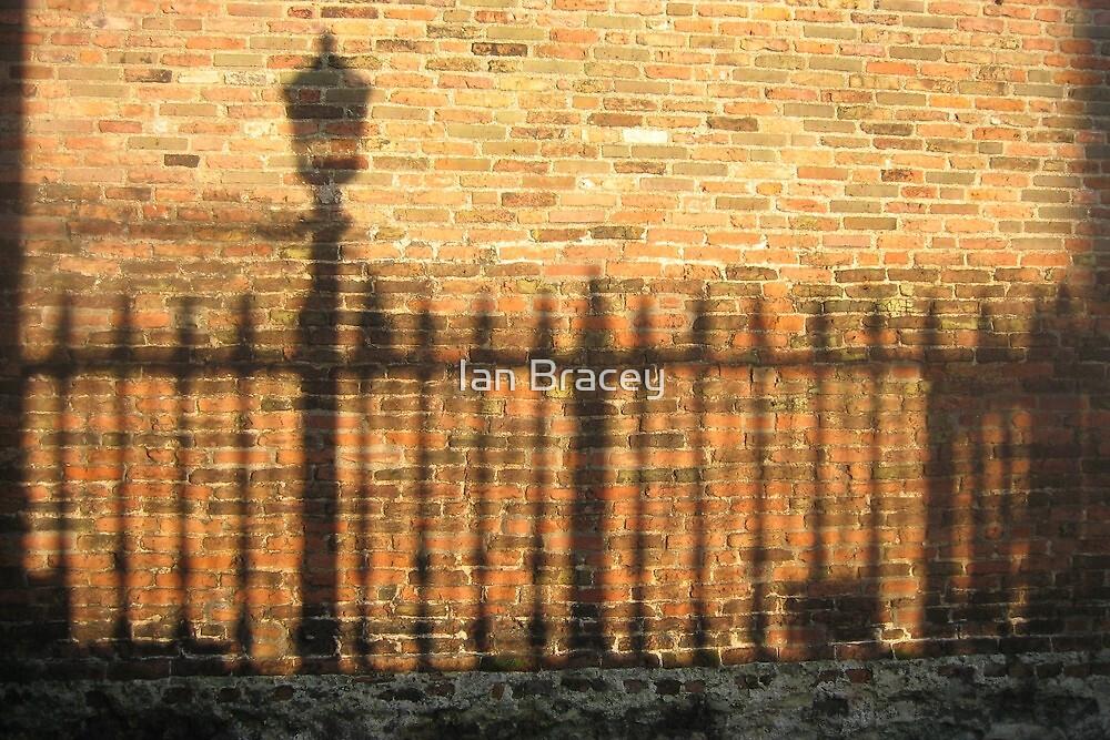 Shadows in Senate House Passage, Cambridge by Ian Bracey