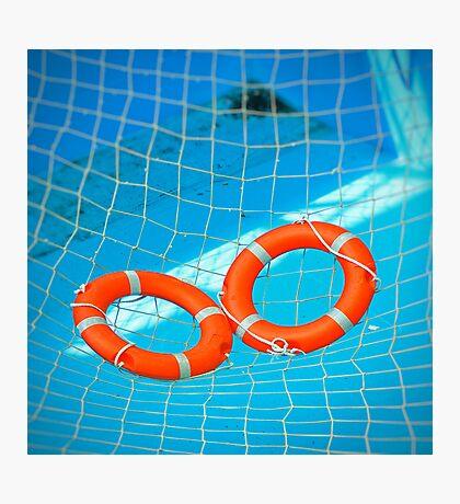Lifesavers Photographic Print