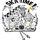 2 Tone Ska Time Cuckoo Clock by colonelle