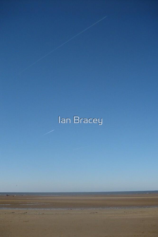 Blue Sky, Hunstanton by Ian Bracey
