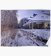 Eiserne Hand (Iron Hand) Station,Taunnusstein,Germany Poster