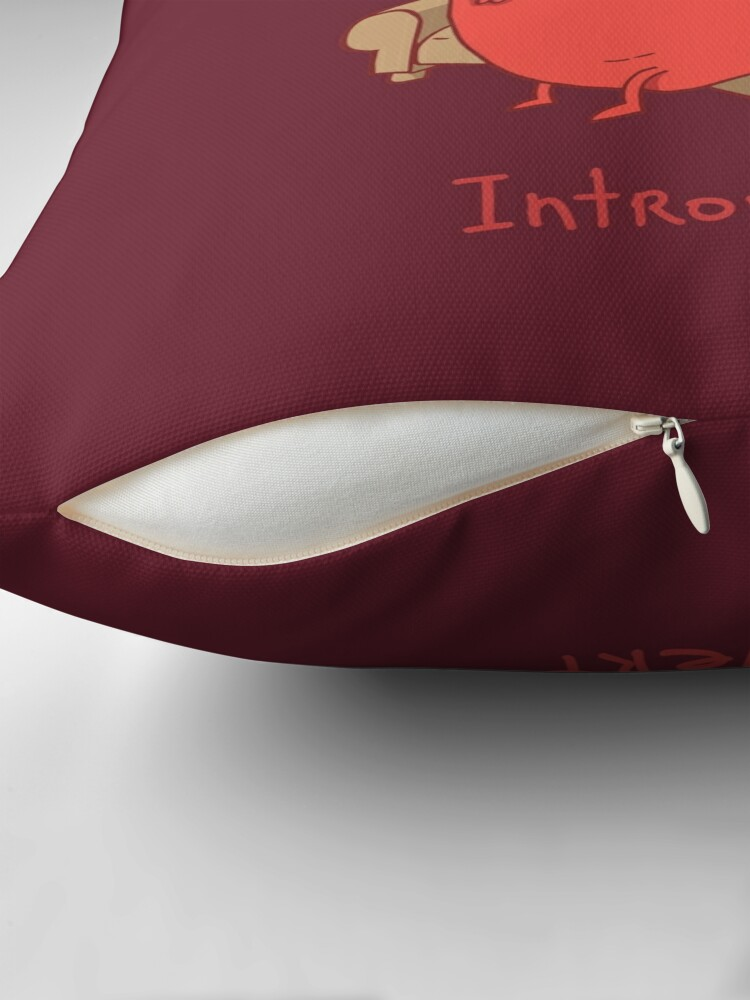 Alternate view of INTROVERT Floor Pillow