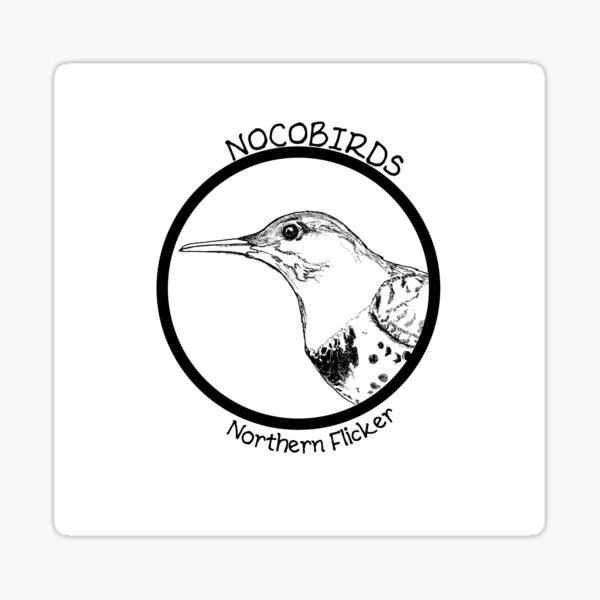 Northern Flicker Sticker
