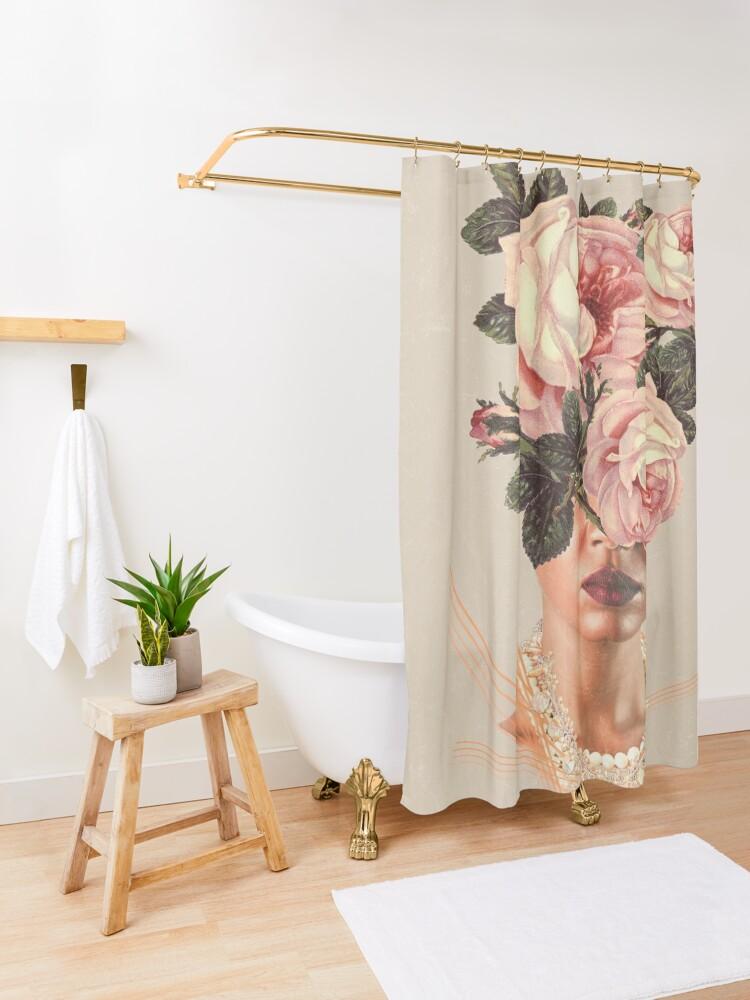 Alternate view of WonderPearl Shower Curtain