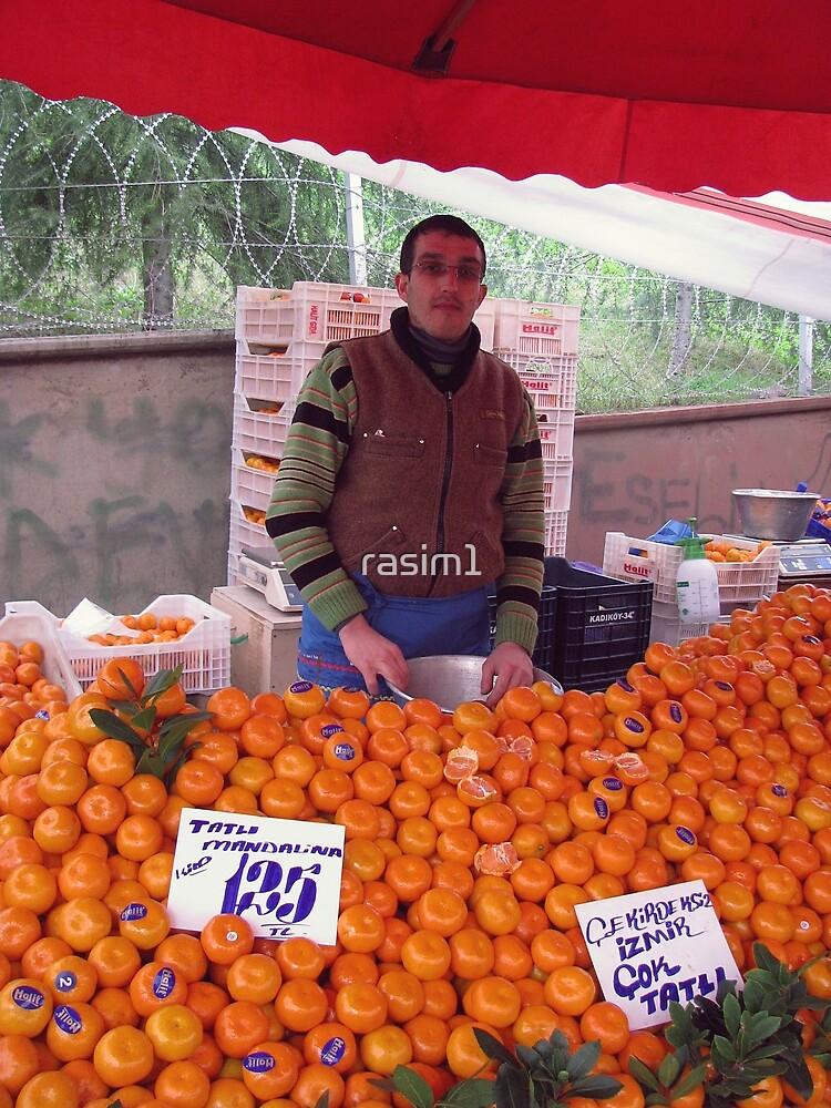 Tangerines in the Bazaar. by rasim1