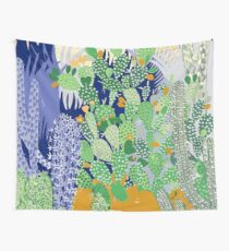 Cactus Landscape Wall Tapestry