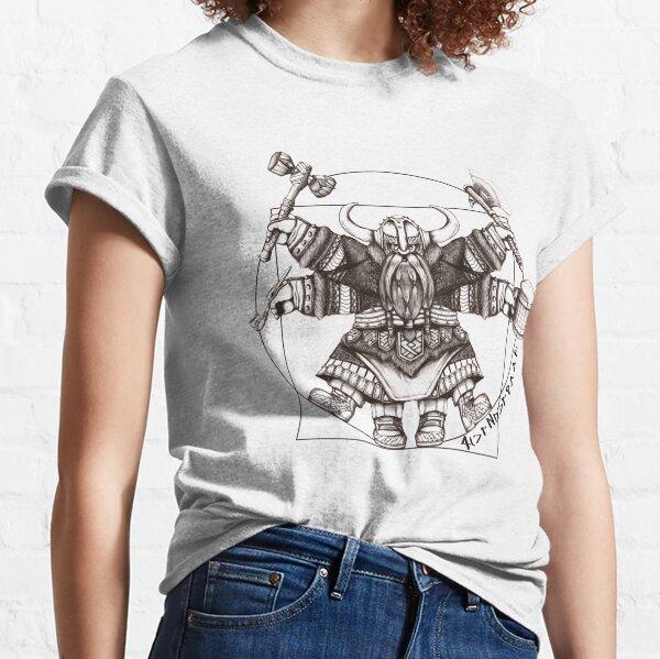 Vitruvian Dwarf Classic T-Shirt