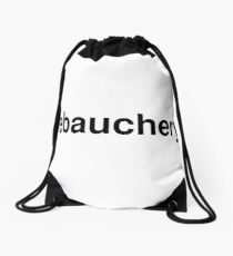 debauchery Drawstring Bag