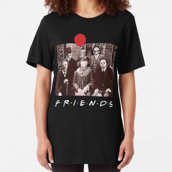 Friends Violett Charaktere Frauen T-Shirt