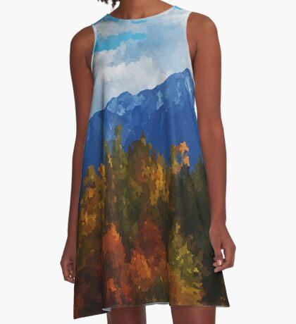 Seasons changing A-Line Dress