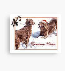 Christmas Wishes Leinwanddruck