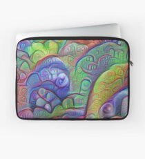 #DeepDream abstraction Laptop Sleeve